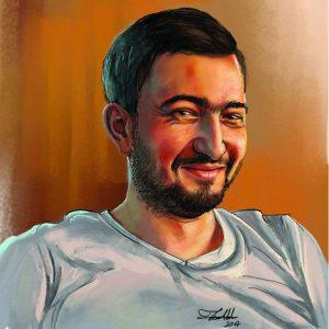 Cagri Portrait by Teoman Mete CAKICI