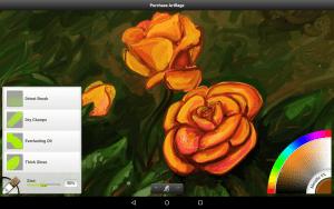artrage oil painter free screenshot 10 inch