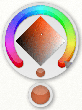 ArtRage popup color picker
