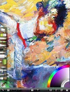 ArtRage iPad quick access