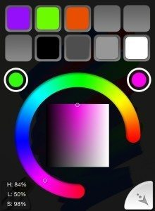 ArtRage iPhone Color Picker