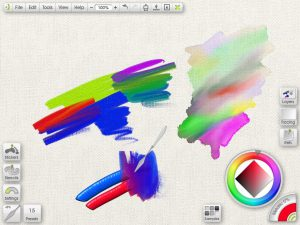 ArtRage treats your paint like the real thing, so you can smear and blend it on the canvas.