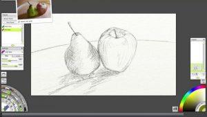 ArtRage Lite pastels still life tutorial