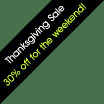 30 Percent off sale
