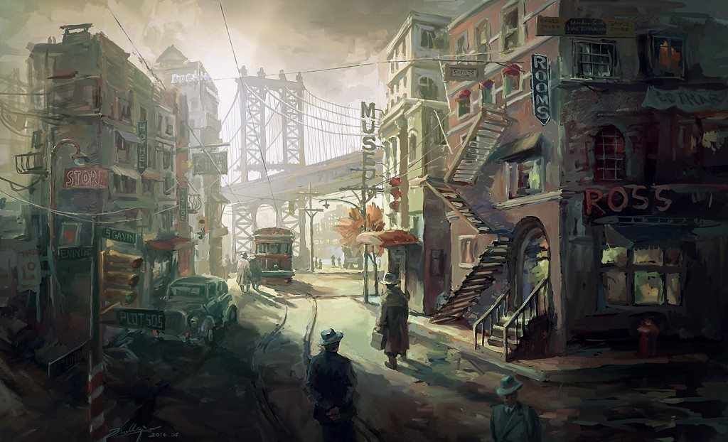 30's America Personal Work used for lecture  by Lothar Zhou
