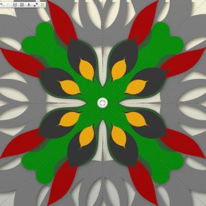 Paint Symmetry lets you create automatically reflected strokes as you work.