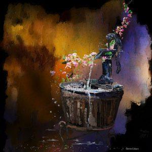 Flower Stream by Donna Coburn