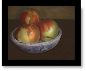 Apples by Vic Shelley
