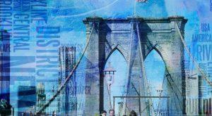 NY Brooklyn Bridge by Bruce Rolff