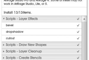 ArtRage Studio Pro 3 4 Script Package File