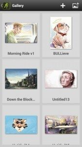 ArtRage for Android Gallery