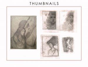 Thumbnail sketches by Jim Pavelec