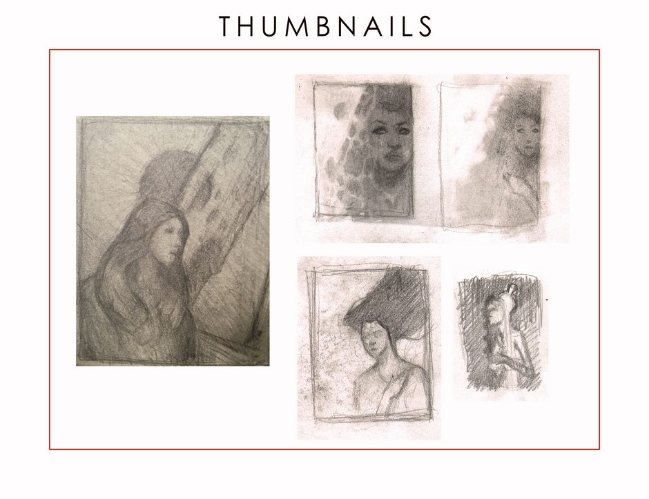 Thumbnail sketches by Jim Pavelec