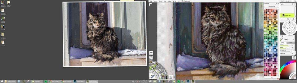Artrage Window Pastel Demo2 ArtRage 5 Ramona MacDonald