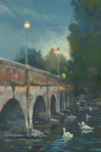Stratford Swans by Steve Elliott