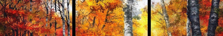 Autumn_Glory triptych detail Dale Jackson Strato Art