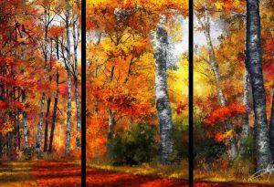 Autumn_Glory Triptych Dale Jackson Strato Art ArtRage Artist