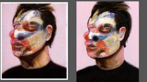Bacon study by Alex Bearne ArtRage iPad art