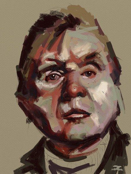 Bacon ArtRage artist Phil Galloway small