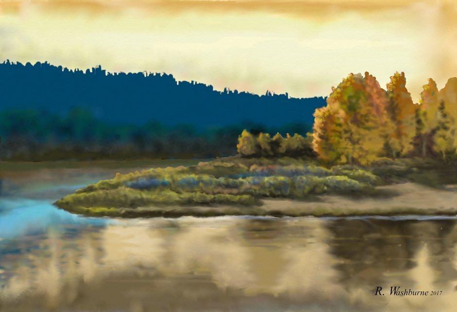Bend in the River by Randel Washburne