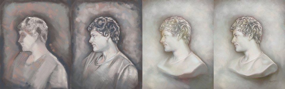 Bernard Process artrage art by Ramona MacDonald