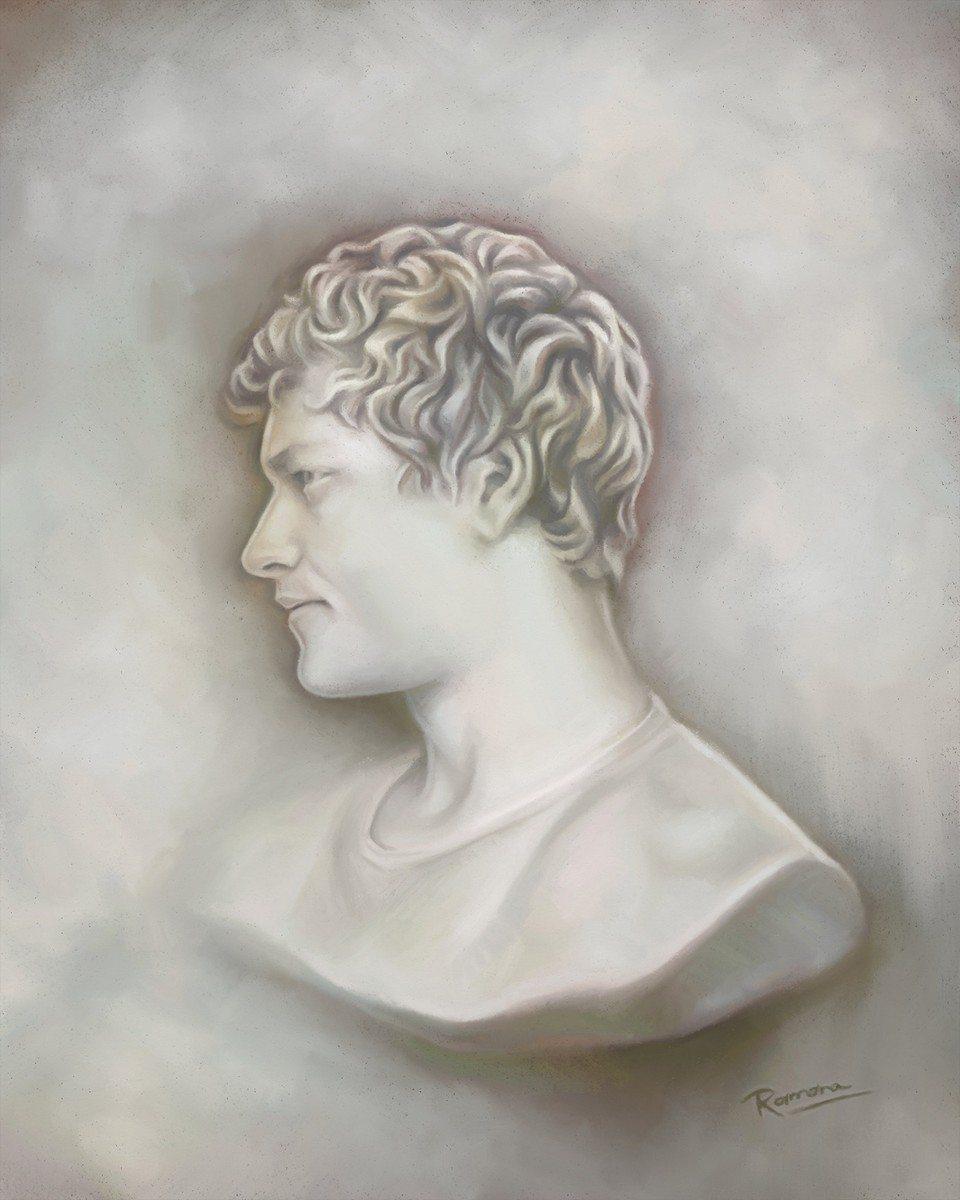 Bernard artrage art by Ramona MacDonald