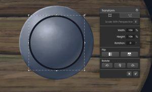 Boss13_Trans2 menu metallic ArtRage 5 tutorial by Boxy Sav Scatola