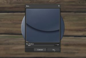 Go to Edit > Blur Layer and blur the edges slightly