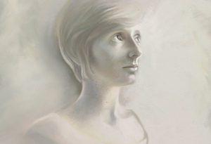 Caira artrage art by Ramona MacDonald