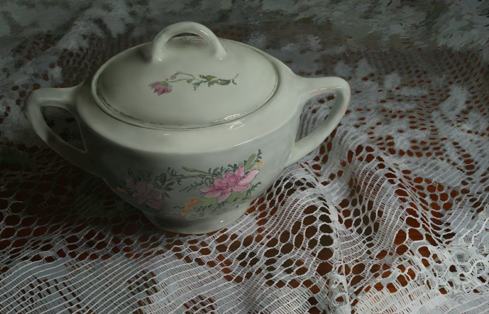 Camilla's Sugar Bowl by Vic Shelley