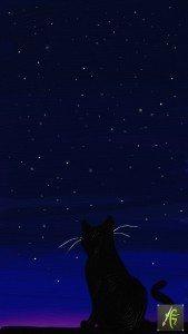 Cat and Stars ArtRage Oil Painter Free Art