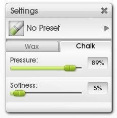 Charcoal ArtRage Tutorial Chalk Settings Detailing