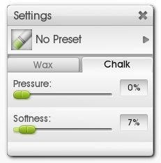 Charcoal ArtRage Tutorial Chalk Settings Shading