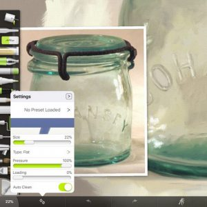 Cohansey Jar Flat Palette Knife Settings by Shelly Hanna