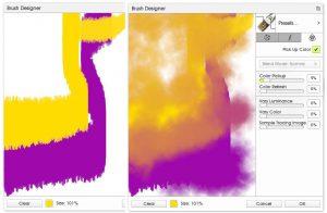 Color Blender Color Refresh ArtRage 5 Custom Brush tutorial by Sav Scatola