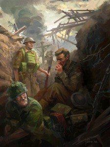 Final Struggle Commission work by Lothar Zhou