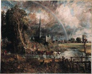 'Salisbury Cathedral' by John Constable