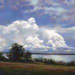 Contrast Against Cloudbank artrage art by Ramona MacDonald