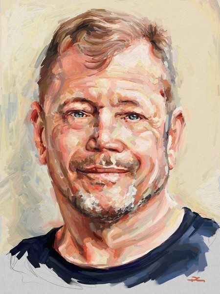 Dave ArtRage artist Phil Galloway small