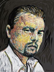Di Caprio by Alex Bearne ArtRage iPad art