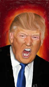 Donald Trump ArtRage for Android art by Henry Salas