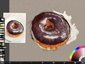 Donut Study WIP 1 by Shelly Hanna (small)