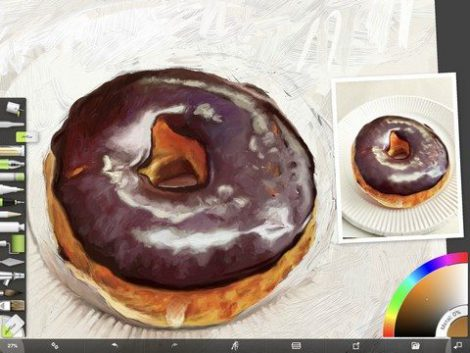 Donut Study WIP 2 by Shelly Hanna (small)