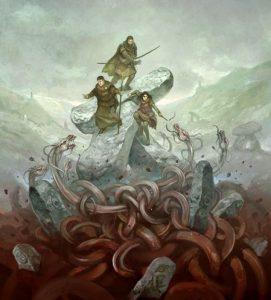Dragon Warriors Players' Book by Jon Hodgson ArtRage Artist small