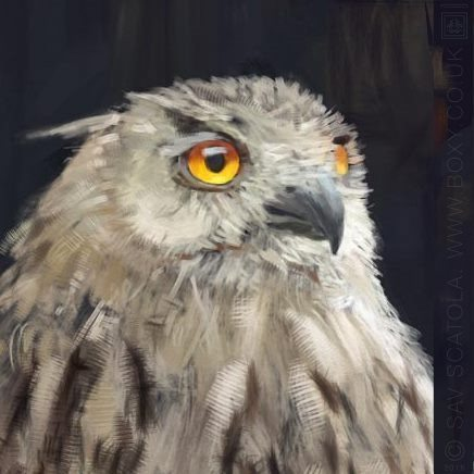 EagleOwl by Boxy ArtRage 5