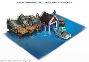 Farmville 2_cove dock artrage art by Mark Paulik