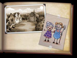 Farmville2_PhotoBookPage02 artrage art by Mark Paulik