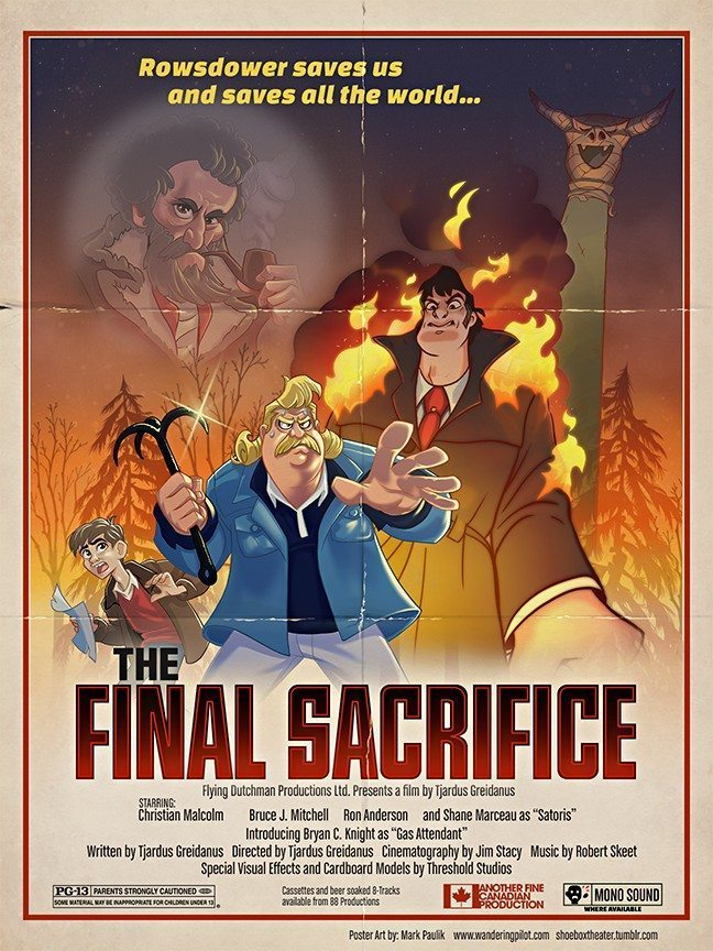 Final Sacrifice Poster 9x12 artrage art by Mark Paulik