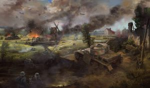 France 1944 Commission Work by Lothar Zhou