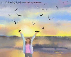 Freedom At Dawn Megan Fry